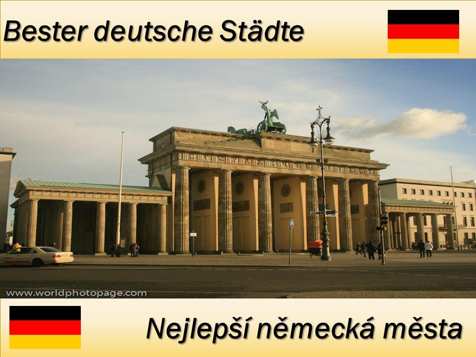 Bester deutsche Städte Nejlepší německá města