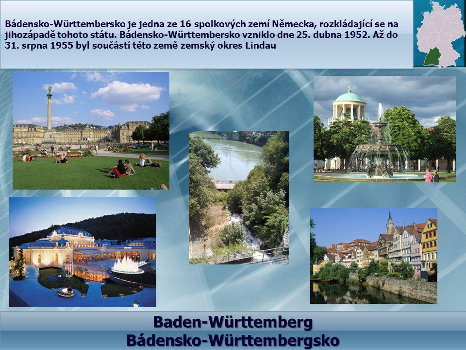 Bádensko-Württembersko je jedna ze 16 spolkových zemí Německa, rozkládající se na jihozápadě tohoto státu. Bádensko-Württembersko vzniklo dne 25. dubn