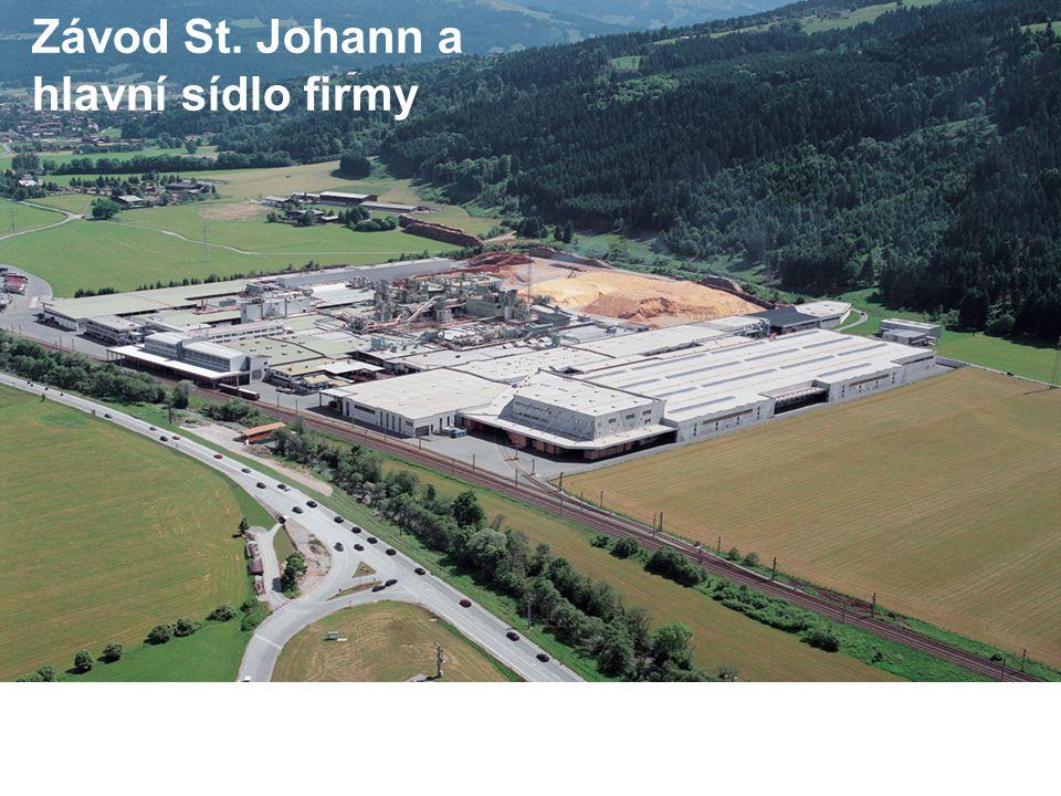 Závod St. Johann a hlavní sídlo firmy