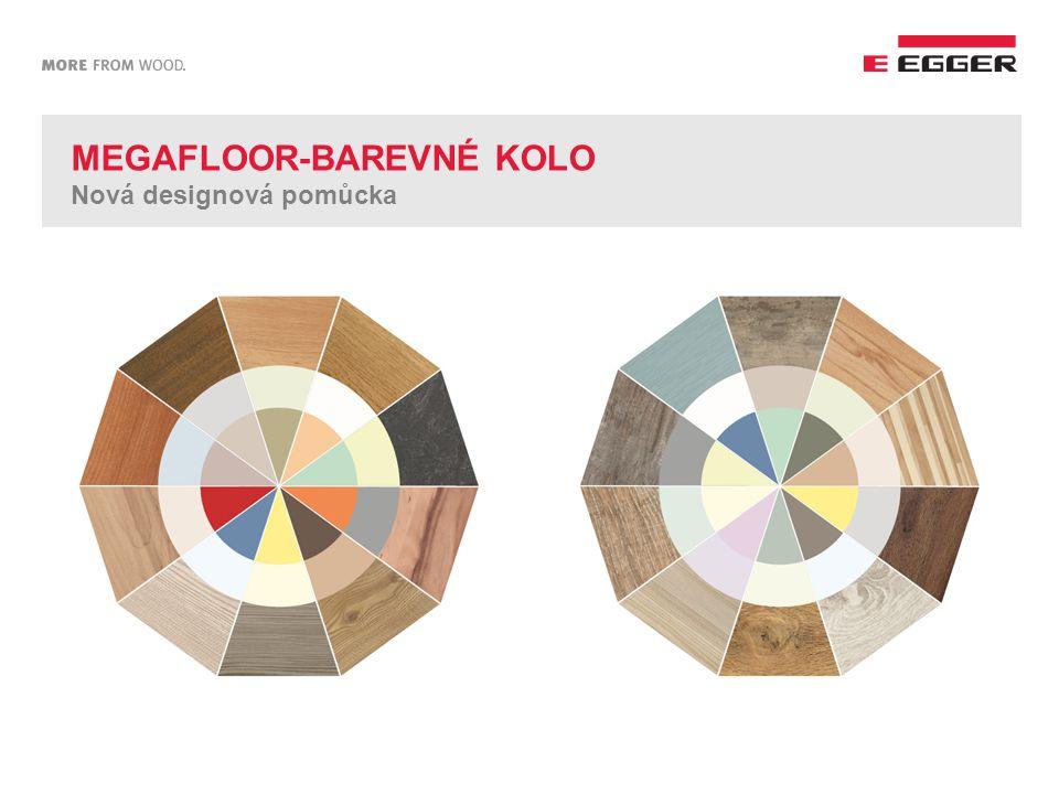 MEGAFLOOR-BAREVNÉ KOLO Nová designová pomůcka