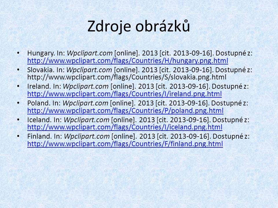 Zdroje obrázků Hungary. In: Wpclipart.com [online].