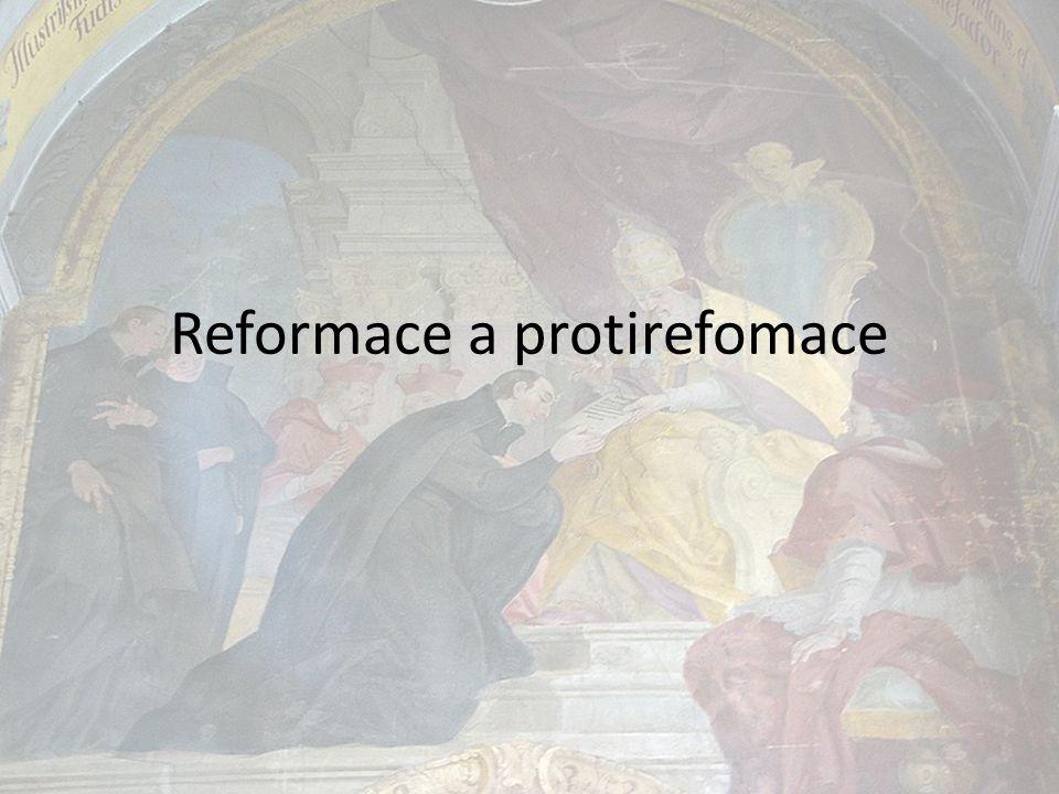 REFORMACE KRIZE CÍRKVE – SNAHA O JEJÍ NÁPRAVU REFORMACE HUMANISMUS -dovolává se středověké tradice hluboké zbožnosti - vlna náboženského probuzení, dotýká se lidových mas - posun od středověkého náboženského pohledu k hodnotě lidské osobnosti.