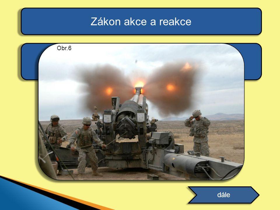 Zákon akce a reakce Uveďte další příklady působení těchto sil, které znáte z praxe. dále