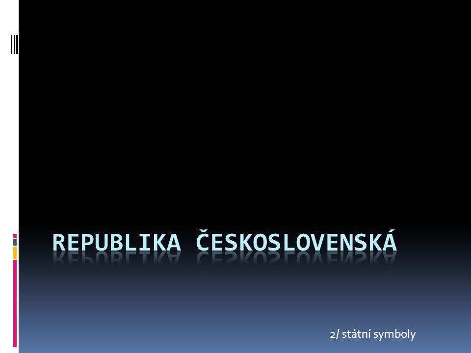 2/ státní symboly