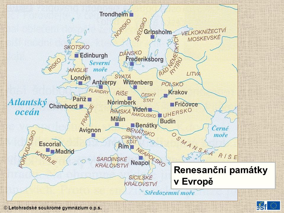 Renesanční památky v Evropě