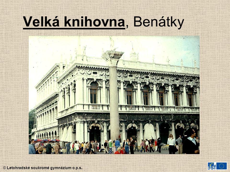 Velká knihovna, Benátky