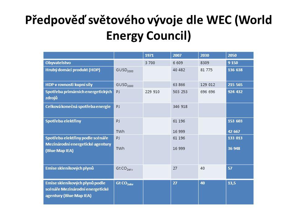 Obnovitelné zdroje Větrné elektrárny, vzhledem k situaci ČR a jaderné energetice v základním zatížení by se v ČR uplatnily při výrobních nákladech cca 0,15 Kč/kWh Pro FV (fotovoltaika) elektrárny platí nutnost požadavku vysoké účinnosti FV článků (laboratorní nad 22%), regulovatelnost vyvedení výkonu, jednoznačná kontrola vyrobené energie a současně pouze ekonomicky přijatelná dotační podpora.