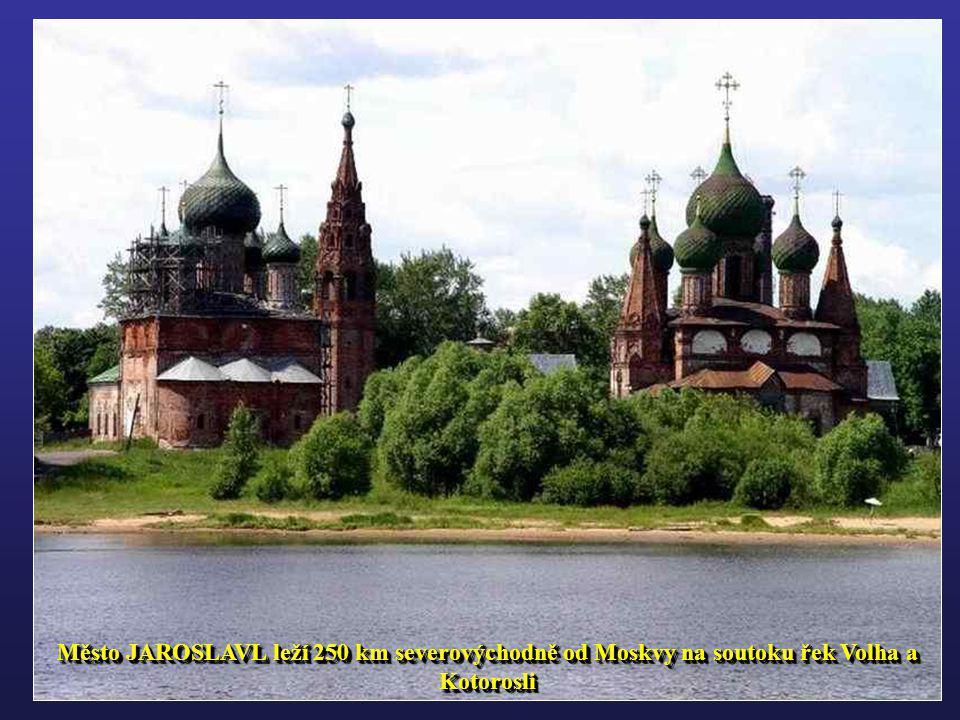 RYBINSK přístavní město v Jaroslavlské oblasti