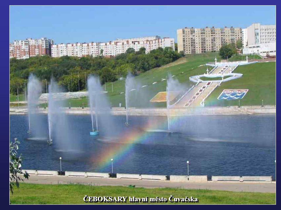 ČEBOKSARY - přístav na Volze