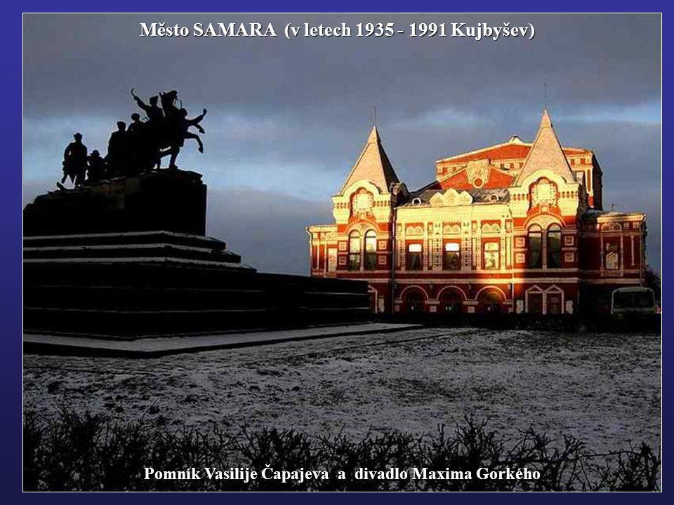 SIMBIRSK – Uljanovsk - rodiště Lenina