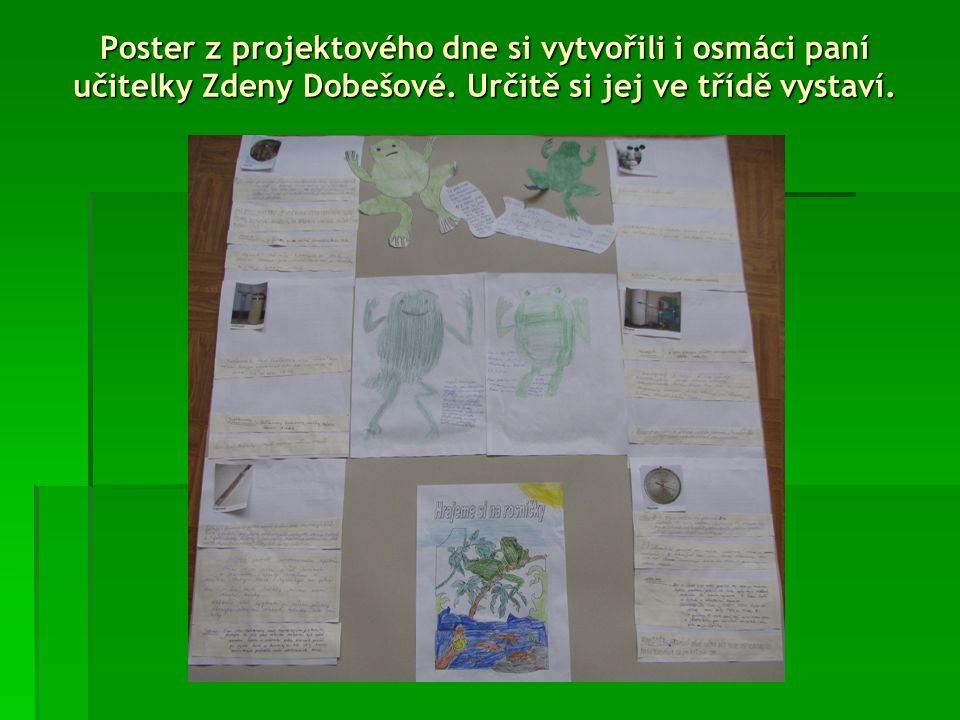 Žáci paní učitelky Hany Lutzové pracovali zcela samostatně, jsou tak naučení a nechtěli vůbec s ničím pomoci.