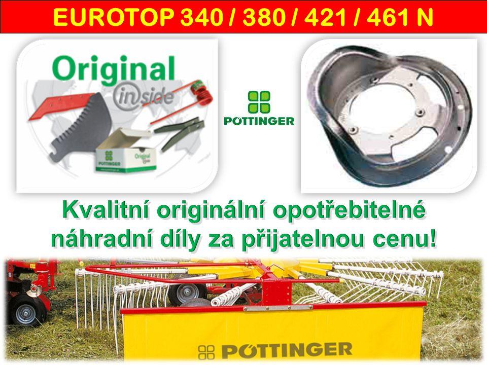 """""""Od firmy Pöttinger máme kompletnú linku na zber krmovín, spracovanie pôdy a sejbu."""