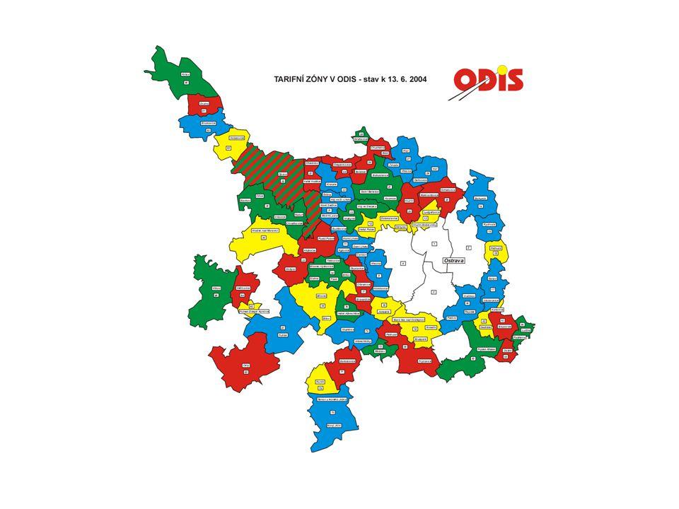 Ostrava 2004 Pilotní projekt pro jednotný odbavovací systém v ODIS 24 Děkuji za pozornost Koordinátor ODIS s.r.o.