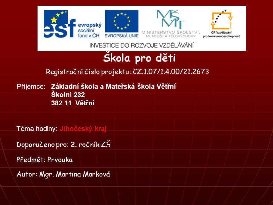 Jihočeský kraj Jihočeský kraj je samosprávná územní jednotka České republiky, tzn., že má na svém území své řídící orgány.