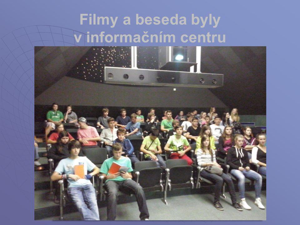 Filmy a beseda byly v informačním centru