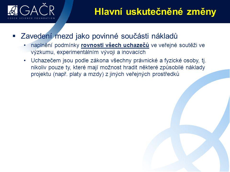"""K nejnovějším mýtům o fungování GAČR  Národní kontaktní centrum – ženy a věda při Sociologickém ústavu AV ČR: """"GAČR diskriminuje na základě pohlaví ."""