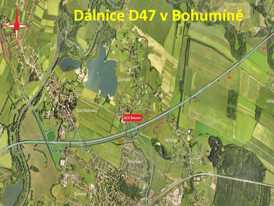 Dálnice D47 v Bohumíně