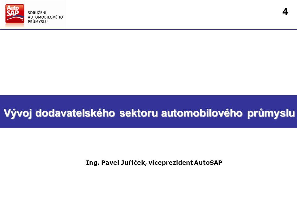 Směry hlavních činností AutoSAP Strategie AutoSAP pro další období Ing.