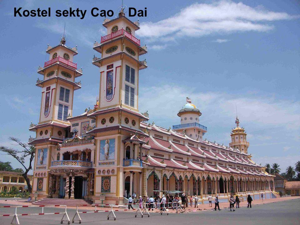 Kostel sekty Cao Dai