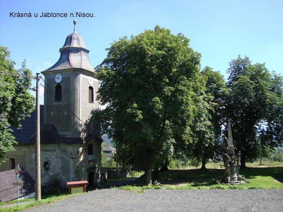 Krásná u Jablonce n.Nisou.