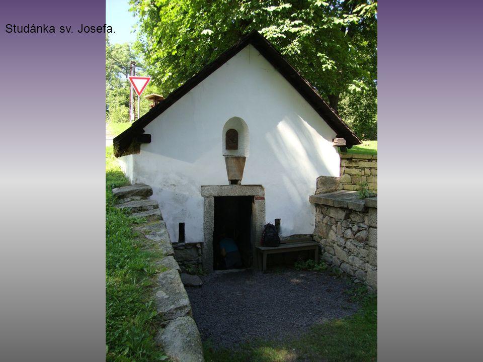 Studánka sv. Josefa.