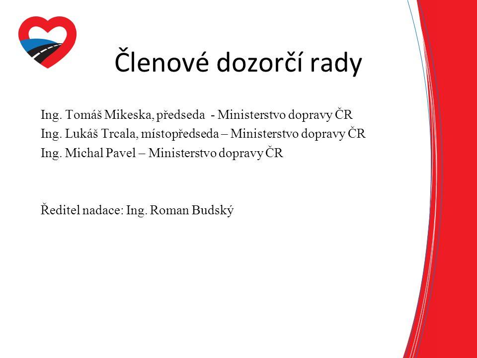 Členové dozorčí rady Ing.Tomáš Mikeska, předseda - Ministerstvo dopravy ČR Ing.