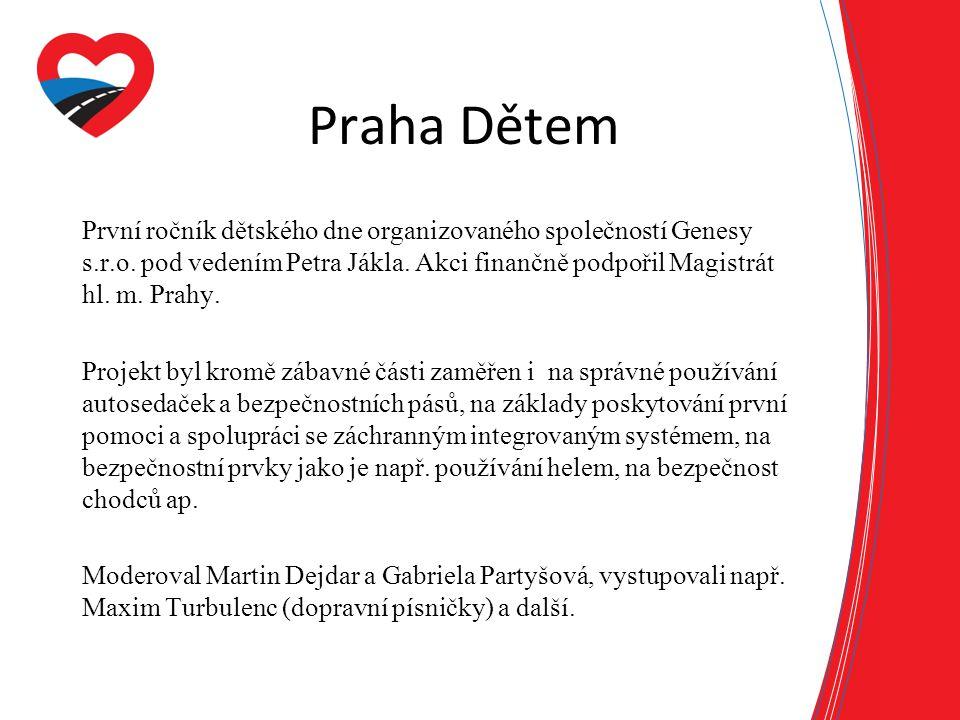 Praha Dětem První ročník dětského dne organizovaného společností Genesy s.r.o.