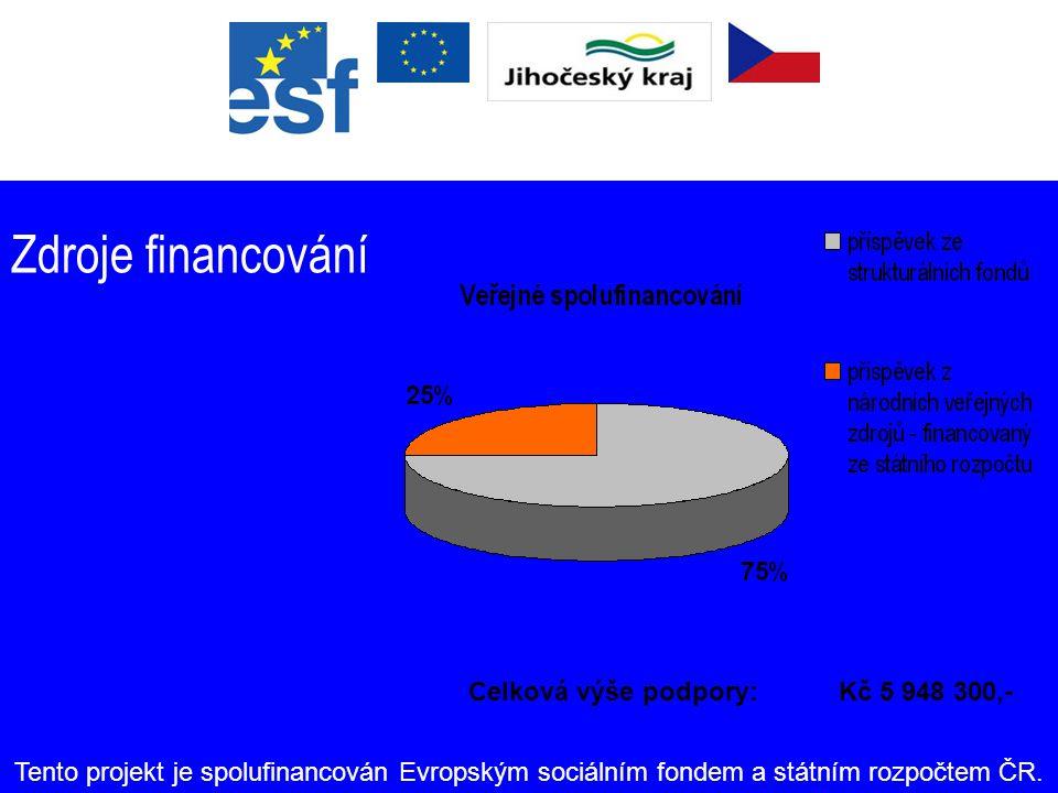 Časový harmonogram Zahájení projektu: 1. červen 2006 Ukončení projektu: 31. květen 2008 Délka trvání: 24 měsíců Tento projekt je spolufinancován Evrop