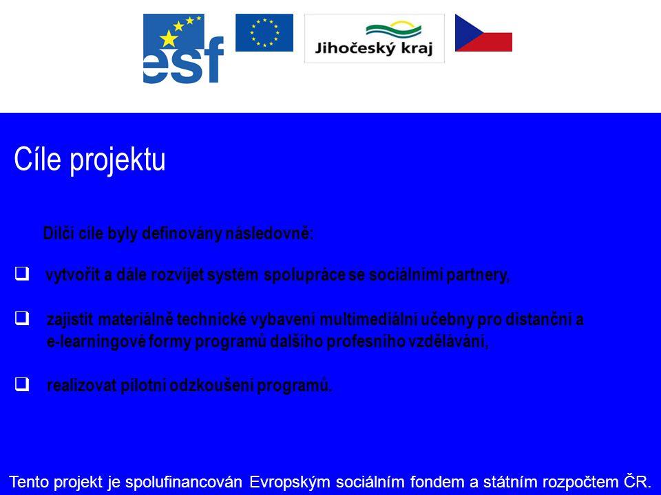 """""""ESF napomáhá rozvoji zaměstnanosti podporou zaměstnatelnosti, podnikatelského ducha a rovných příležitostí a investicemi do lidských zdrojů. Tento projekt je spolufinancován Evropským sociálním fondem a státním rozpočtem ČR."""
