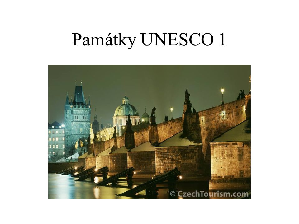 Památky UNESCO 1