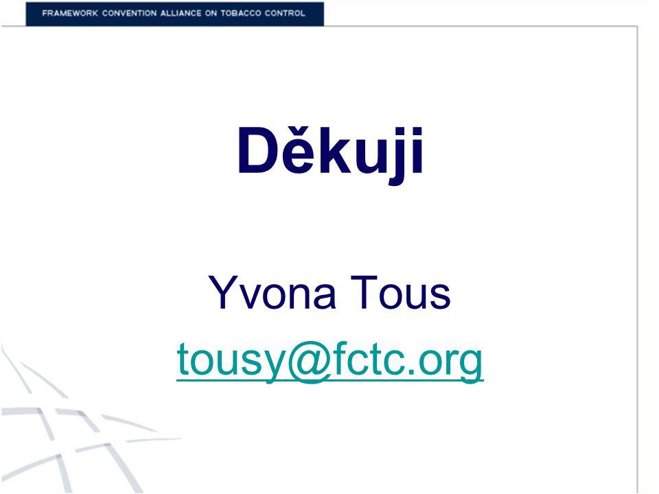 Děkuji Yvona Tous tousy@fctc.org