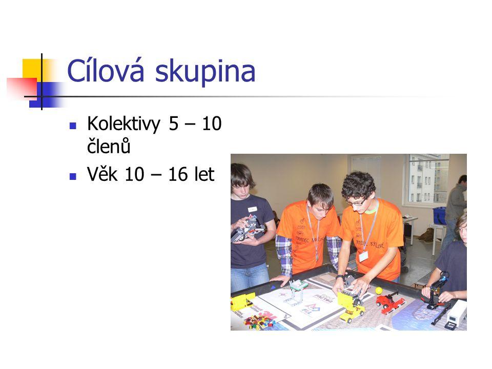 Cílová skupina Kolektivy 5 – 10 členů Věk 10 – 16 let