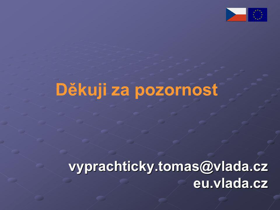vyprachticky.tomas@vlada.cz eu.vlada.cz Děkuji za pozornost