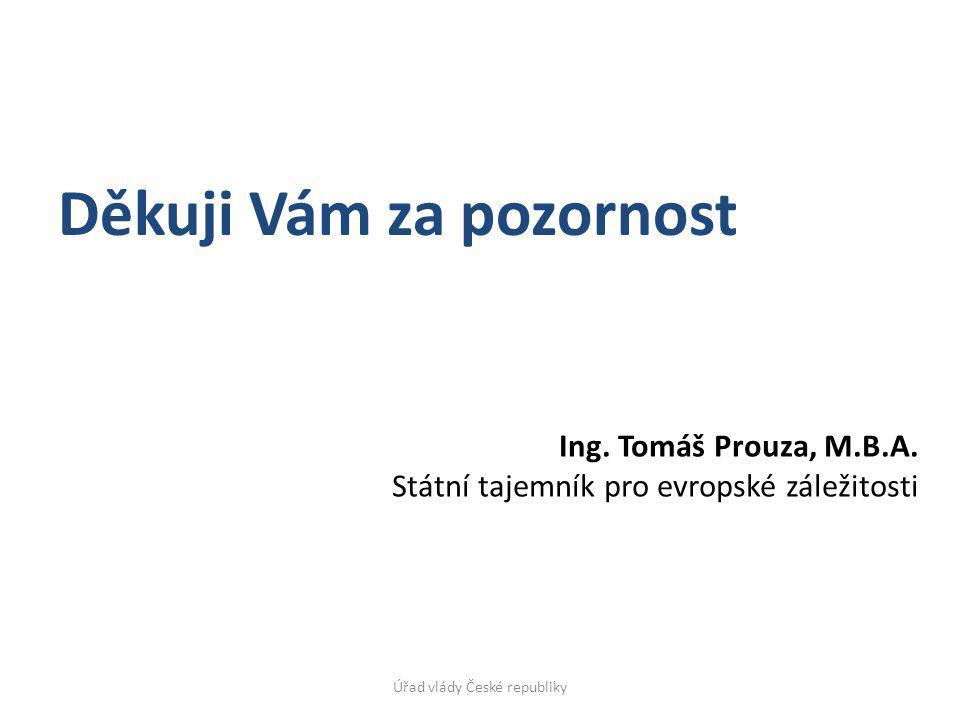 Ing. Tomáš Prouza, M.B.A.