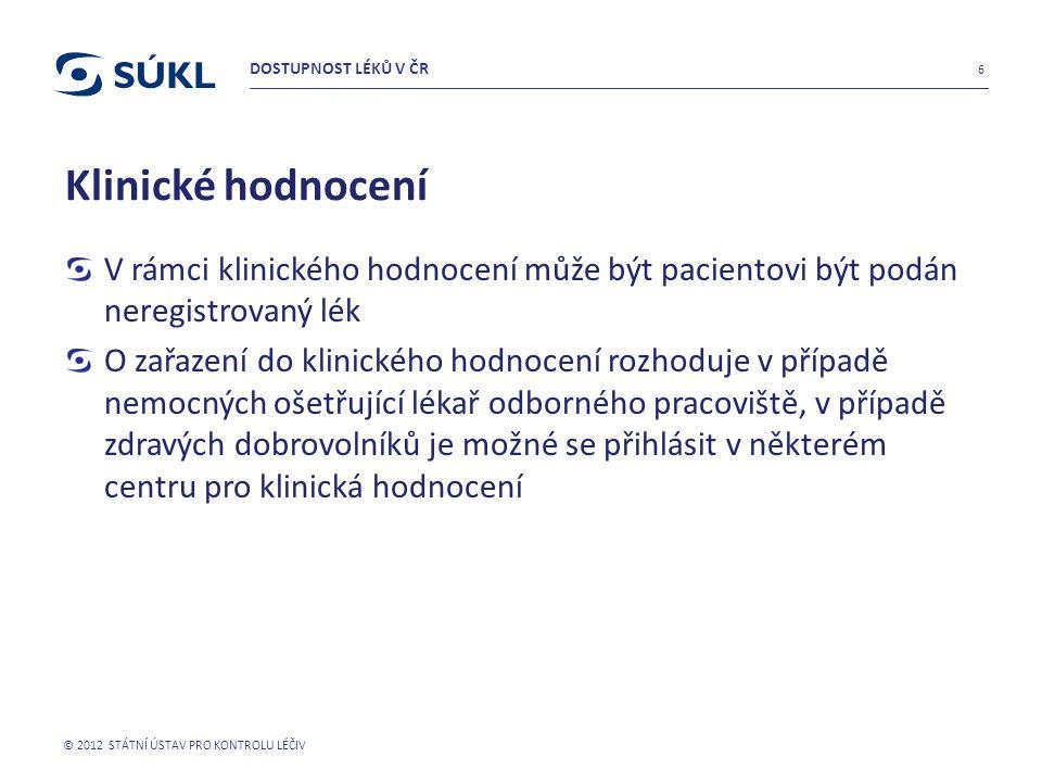 Léky dovážené v rámci souběžného dovozu či distribuce Distribuce některých léků na trh v ČR není zajišťován pouze držitelem rozhodnutí o registraci, ale i držitelem povolení souběžného dovozu/distribuce.