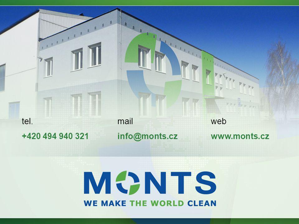 web www.monts.cz mail info@monts.cz tel. +420 494 940 321