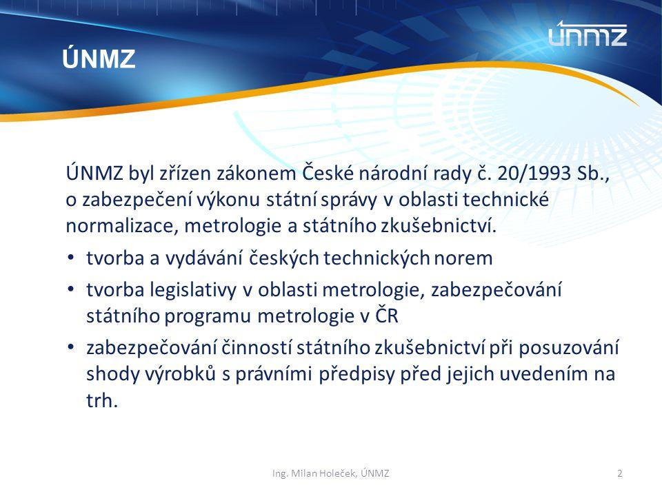 ÚNMZ byl zřízen zákonem České národní rady č.