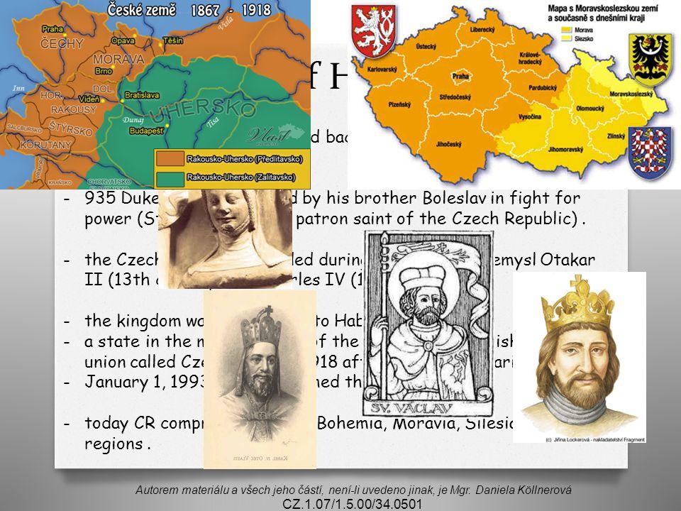 Brief History Autorem materiálu a všech jeho částí, není-li uvedeno jinak, je Mgr.