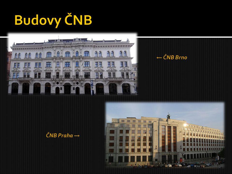 ← ČNB Brno ČNB Praha →
