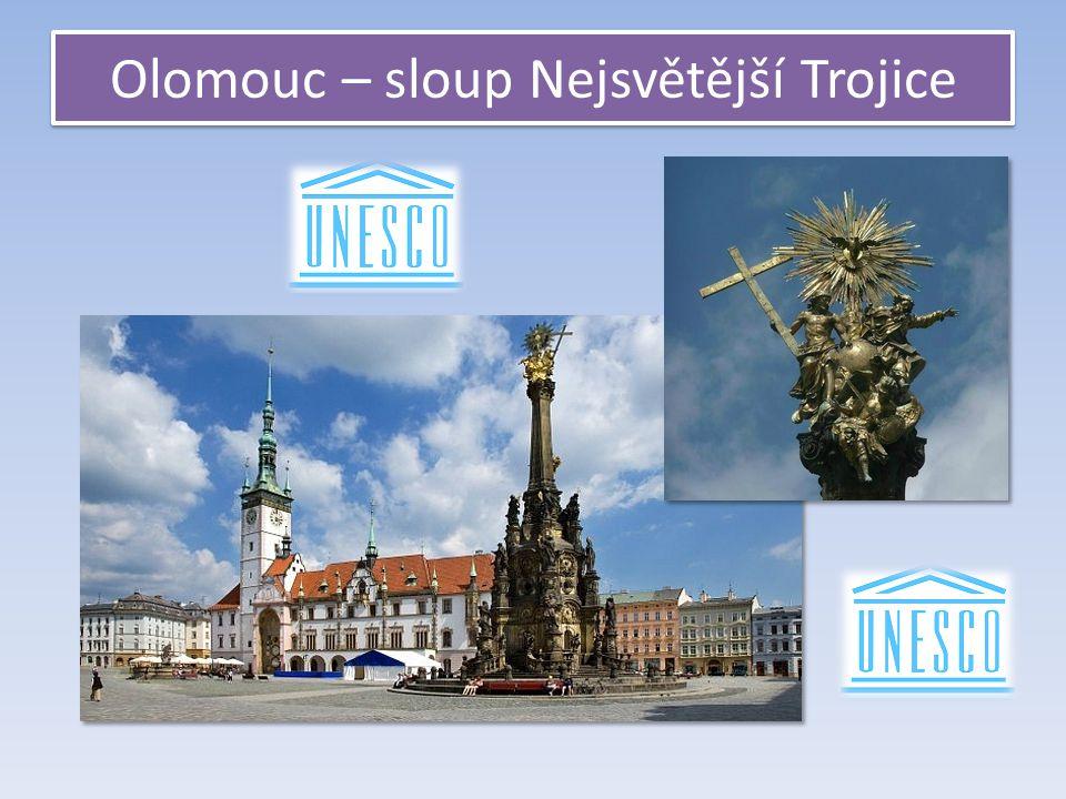 Olomouc – sloup Nejsvětější Trojice