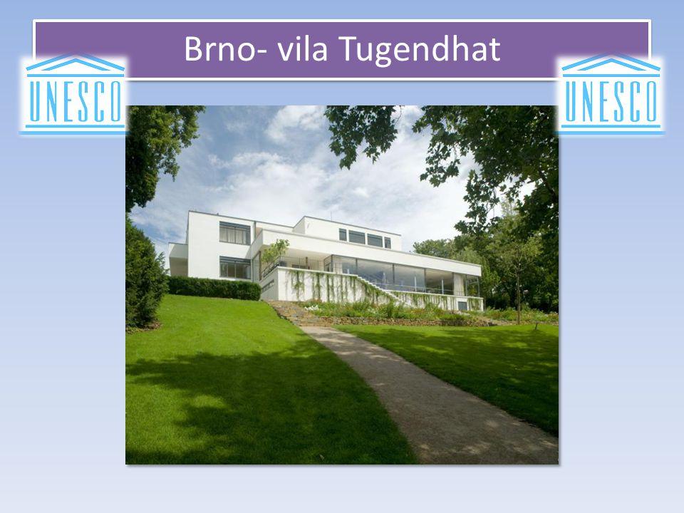 Brno- vila Tugendhat