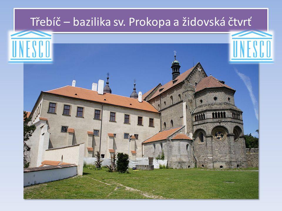 Třebíč – bazilika sv. Prokopa a židovská čtvrť