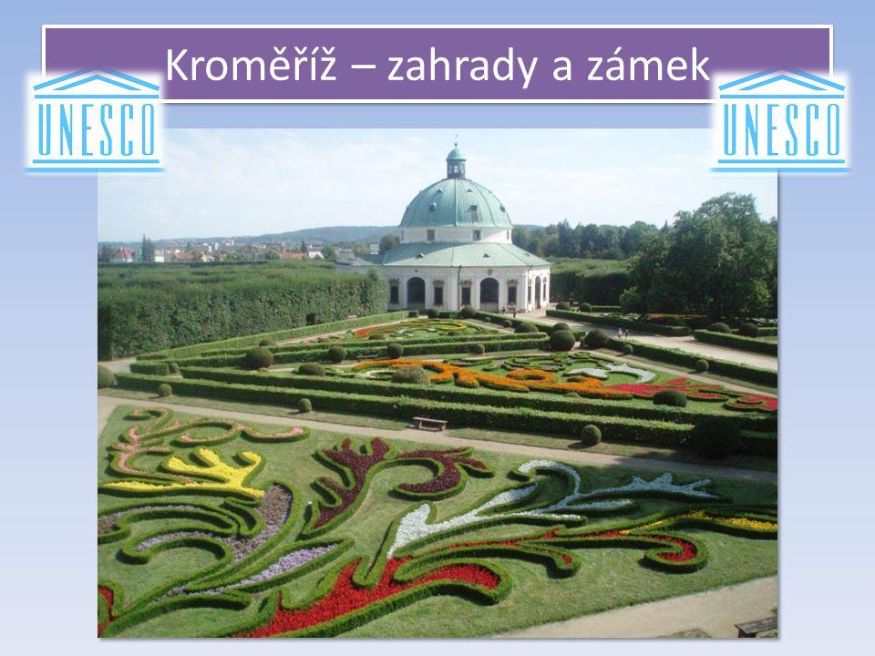 Kroměříž – zahrady a zámek