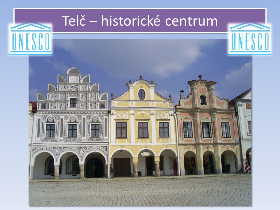 Telč – historické centrum