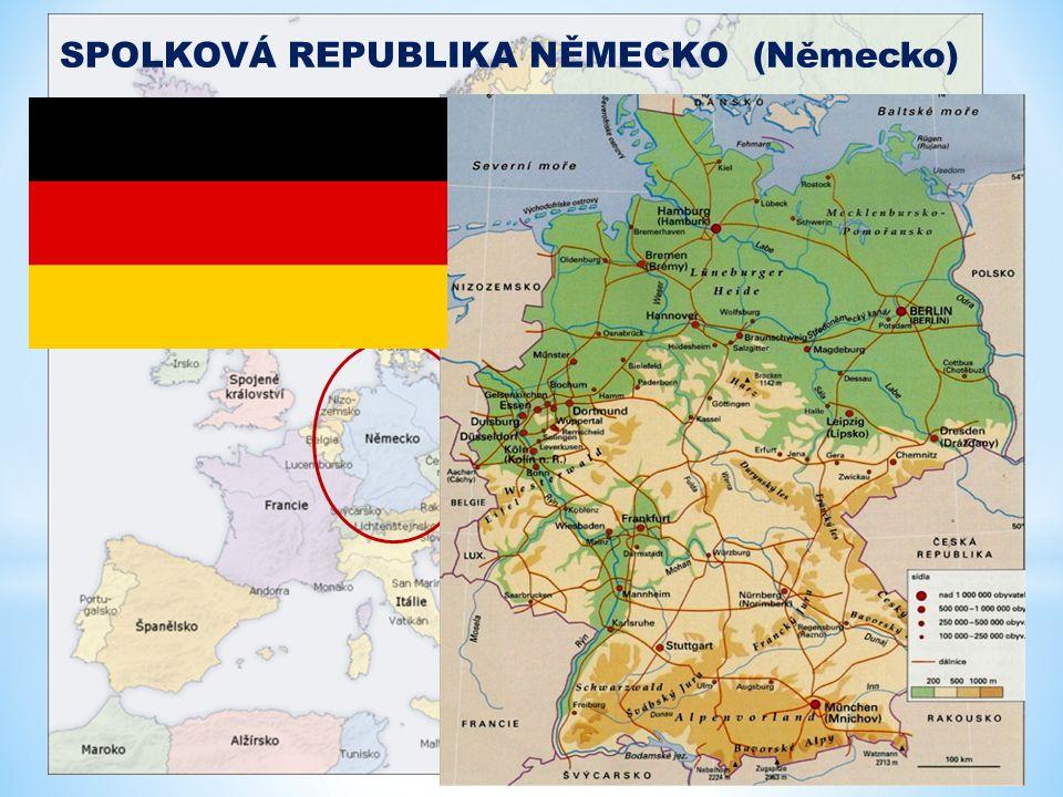 * Na konci druhé světové války (v roce 1945) bylo Německo rozděleno na dva státy: na takzvané východní a západní Německo.