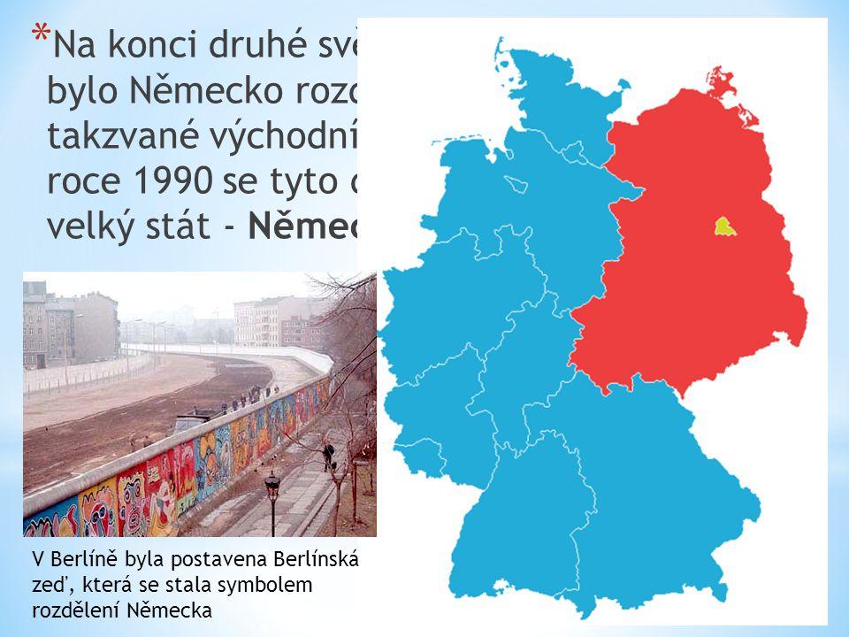 * Obyvatelstvo - v Německu žije asi 80 mil.