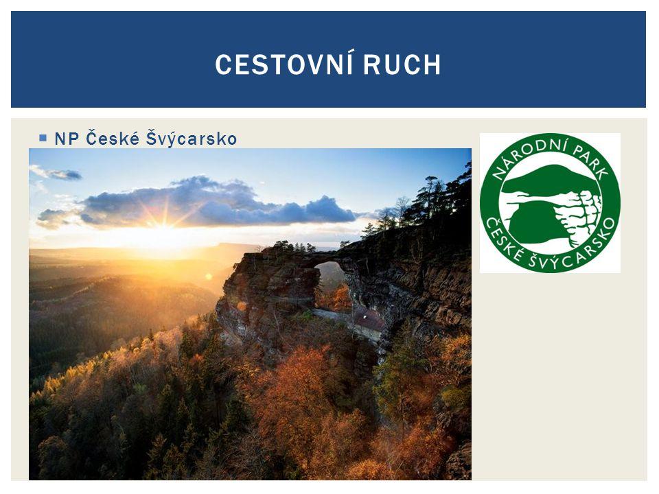  NP České Švýcarsko CESTOVNÍ RUCH