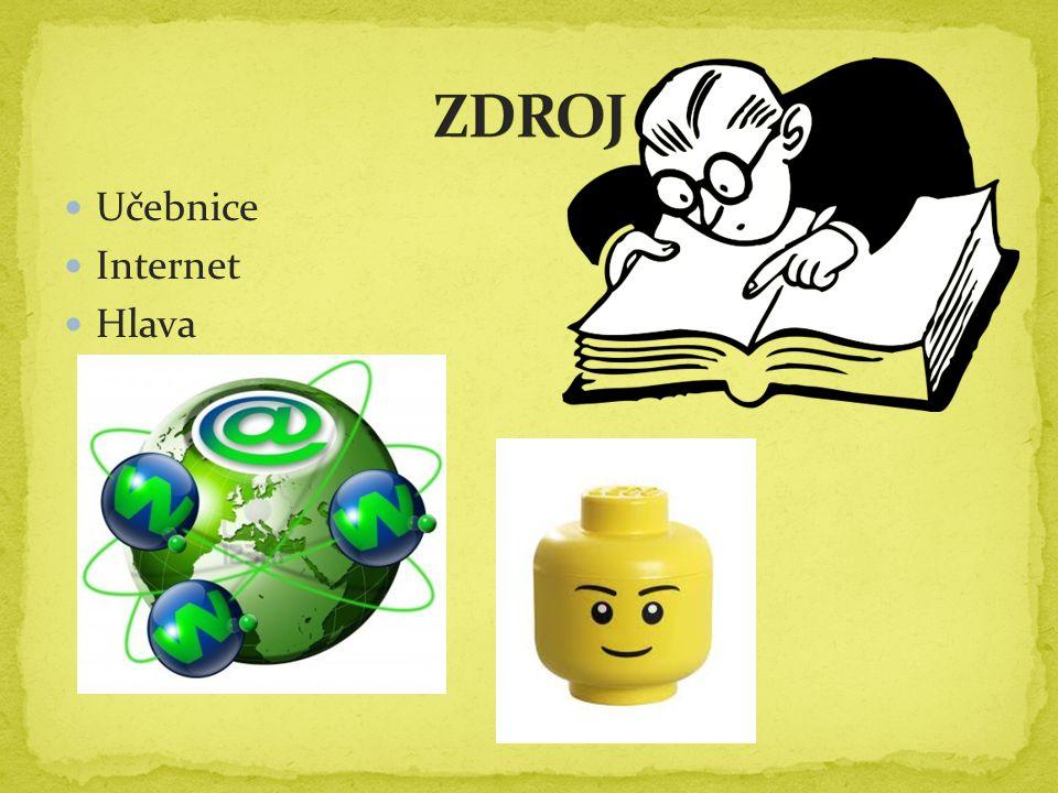 Učebnice Internet Hlava
