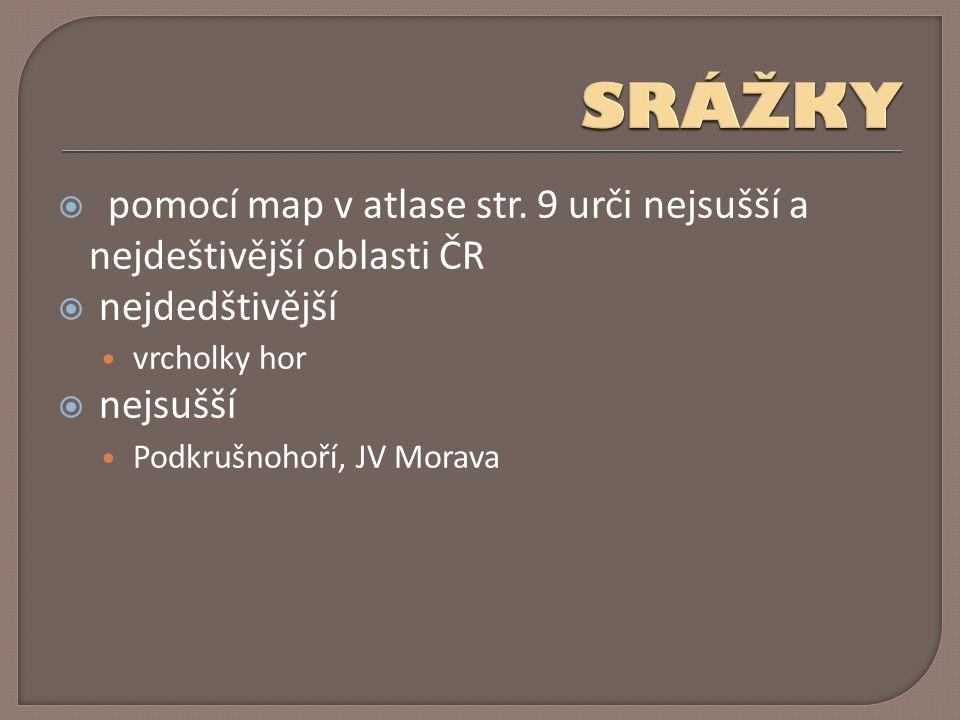 pomocí map v atlase str.