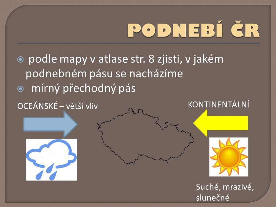  podle mapy v atlase str.